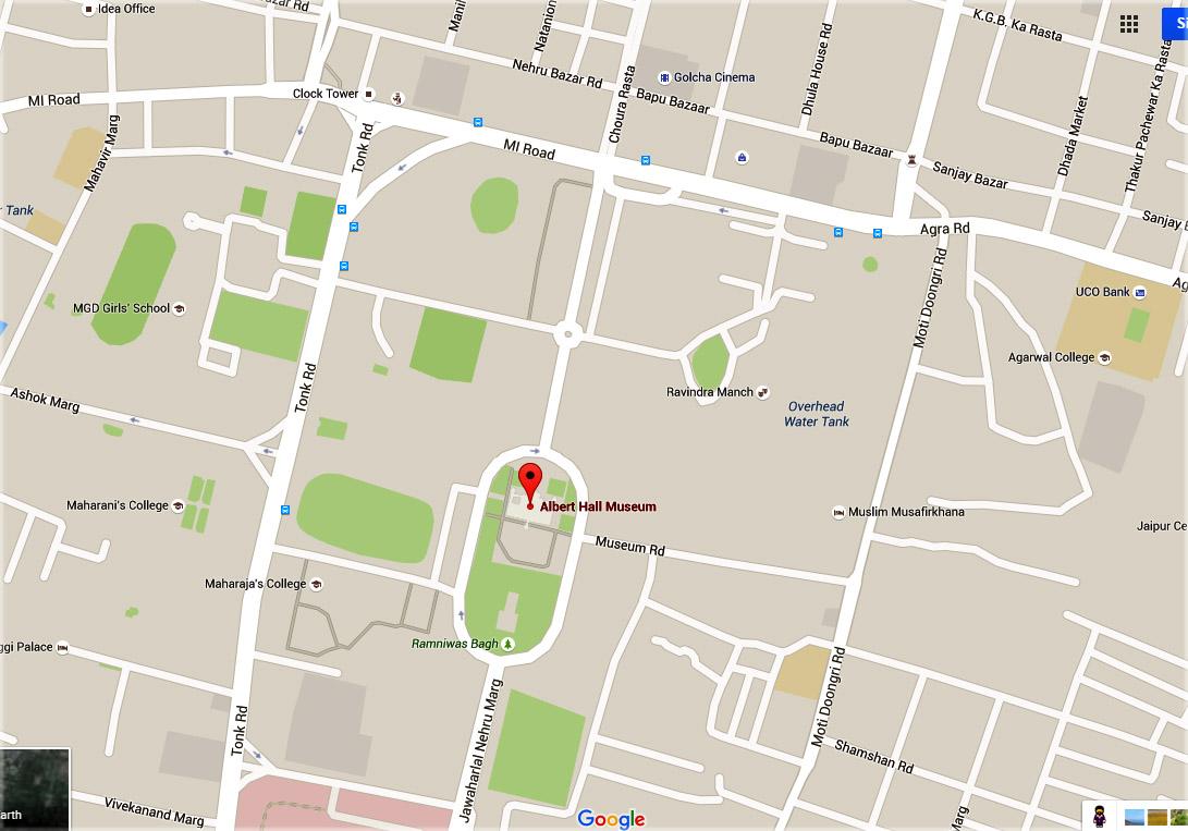 google map Albert hall