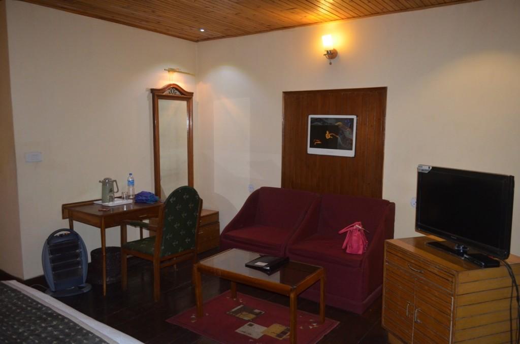 Hotel Central Heritage Darjeeling - our room