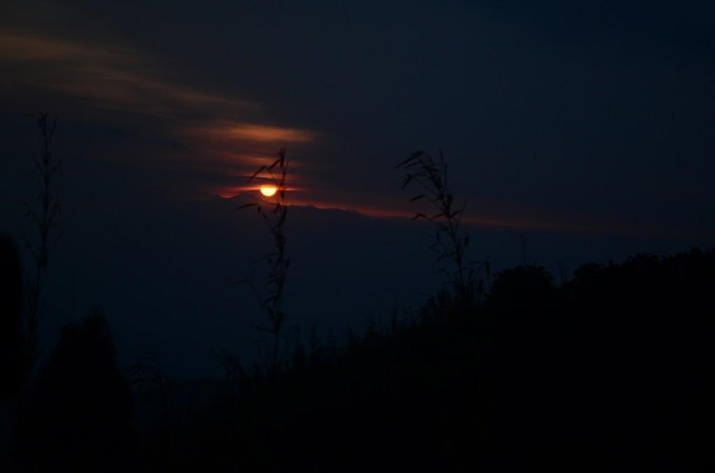 Sunrise at Tiger Hill, Darjeeling