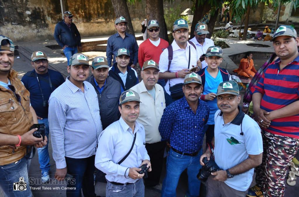 मुकेश पाण्डेय जी के दिशा- निर्देश में घुमक्कड़ी दिल से ग्रुप के कुछ सदस्य !