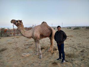 जैसलमेर के रेतीले टीलों की सैर!