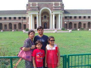 रितेश गुप्ता आगरा का घुमक्कड़ परिवार