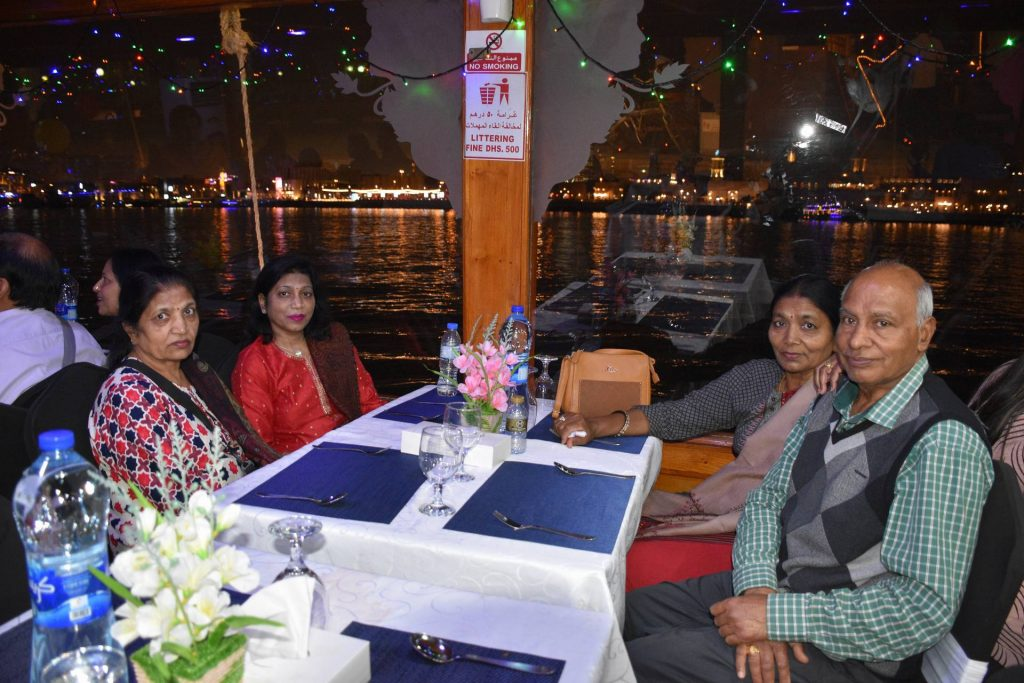 Two storied dhow can accommodate nearly 100 guests.