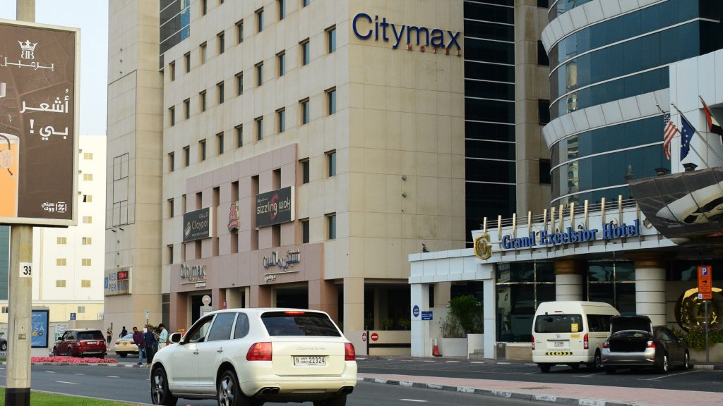 Arrived at Citymax hotel Dubai for 4 days.