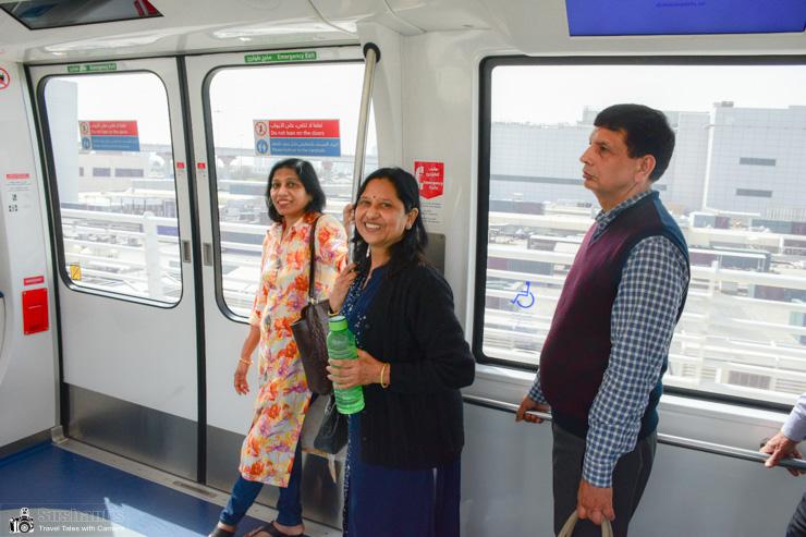 Dubai International Airport - Passenger mover driver-less metro