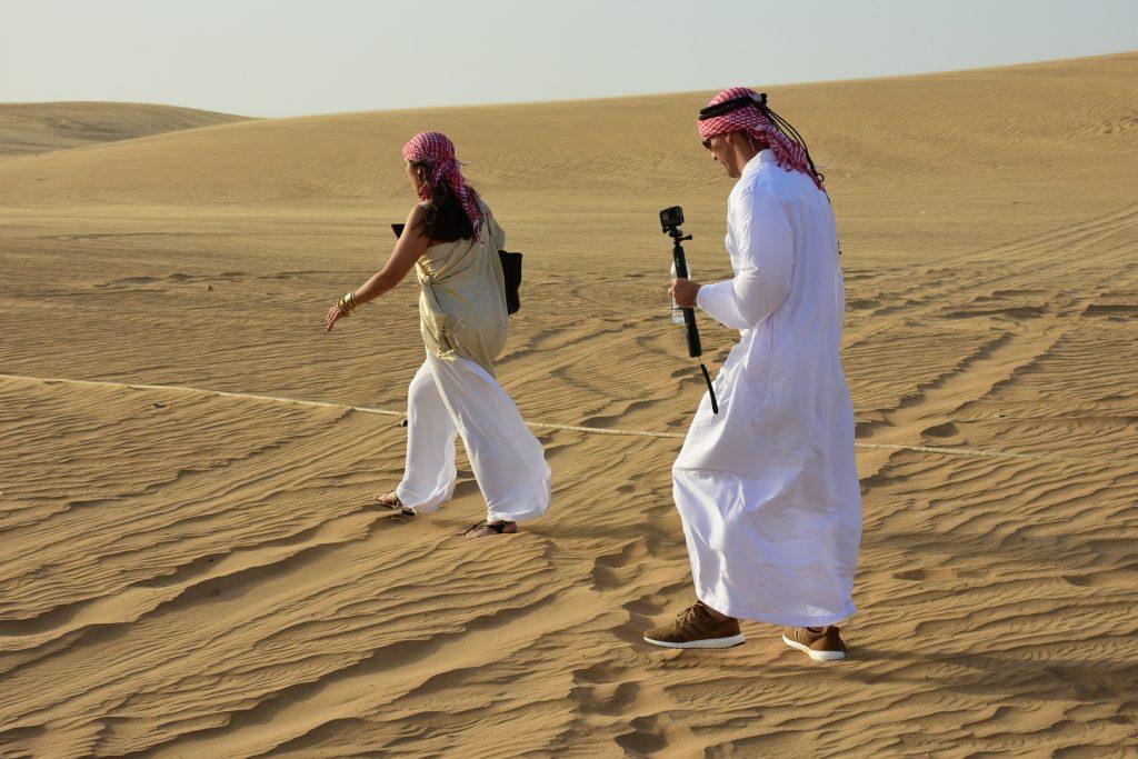 White kandura dress for men in Dubai