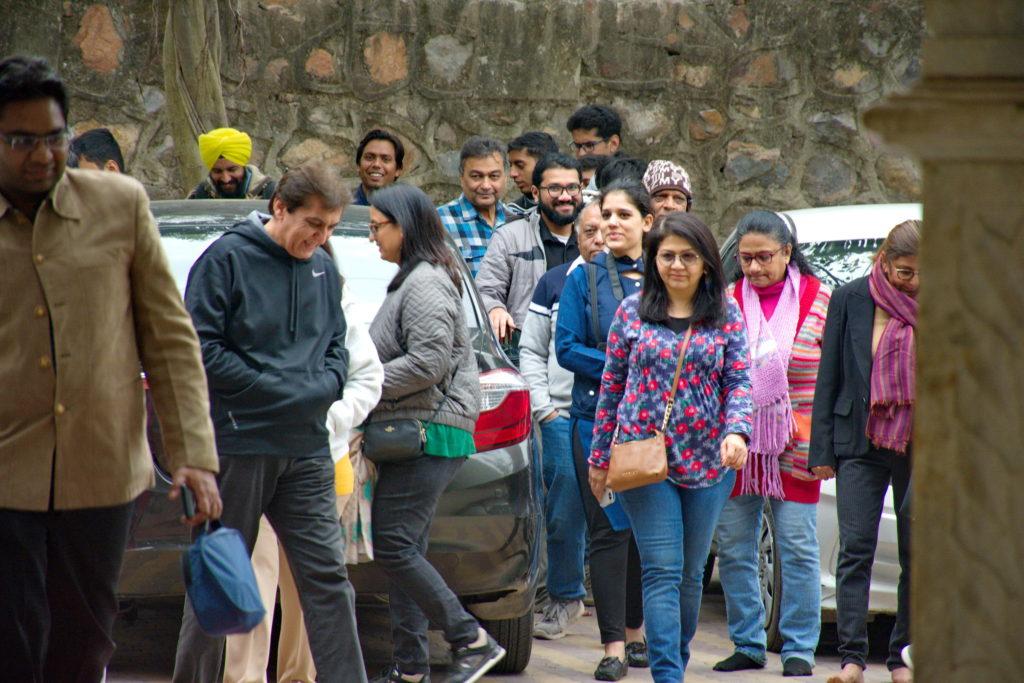महरौली दर्शन हेतु निकला हमारा हेरिटेज वॉक का ग्रुप - सैर ए दिल्ली !