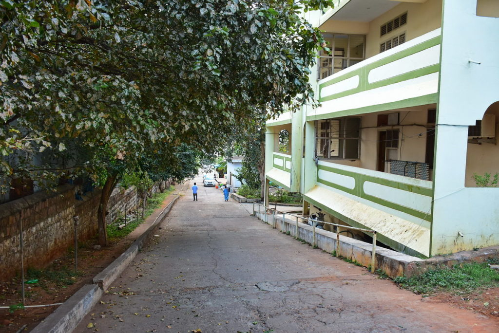 Sri Sailam : This old age home is a large complex consisting of several buildings erected at different levels on a continuous slope.