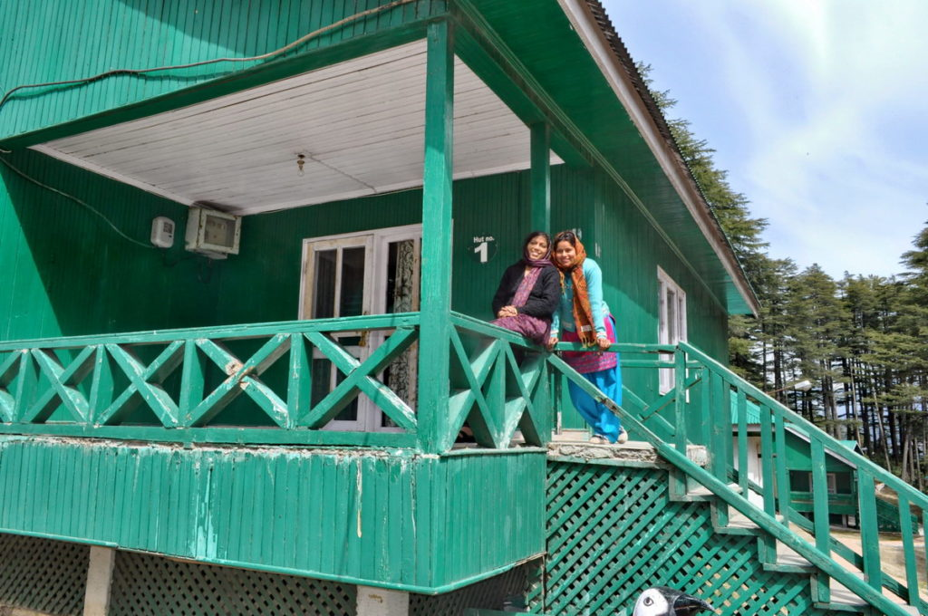 J&K Tourism Development Corporation huts at Patnitop