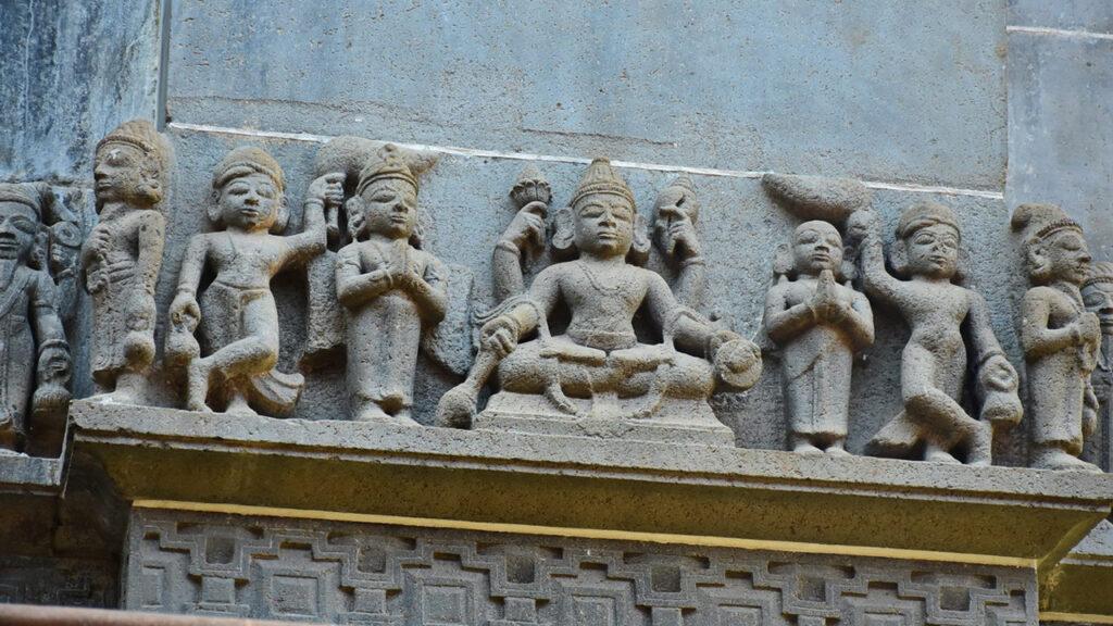 भीमाशंकर मंदिर का जीर्णोद्धार कार्यक्रम चल रहा है!
